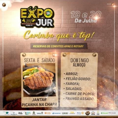 Picanha na Chapa - ExpoJur 2019
