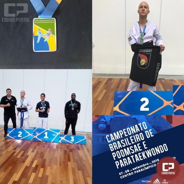 Policial Militar é vice-campeão brasileiro do Parataekwondo em Maringá