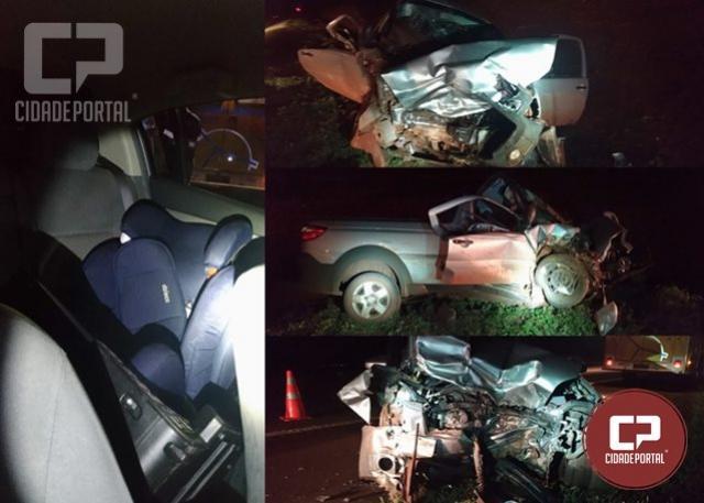 Criança de cinco anos morre em acidente na BR-369 em Juranda