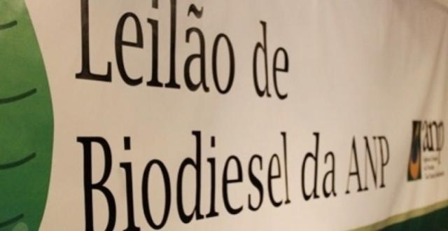 77º Leilão de Biodiesel da ANP negocia 1,18 bilhão de litros