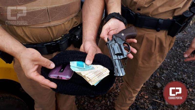 Assaltantes de Campo Mourão levam a pior após assalto e confronto com a Polícia Militar em Iretama
