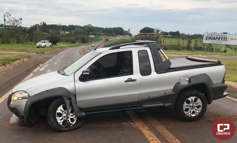 7º BPM liberta refém e recupera veículo tomado por assaltantes em Mandaguari