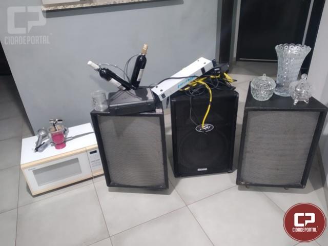 Após denúncia Polícia Militar de Goioerê recupera objetos roubados em chácara