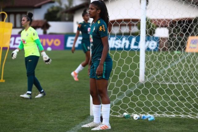 Kaylane realiza sonho de ser convocada pela primeira vez para Seleção Feminina Sub-17
