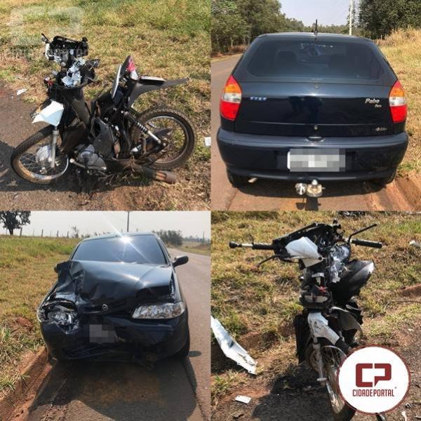 Motociclista perde a vida em acidente na PR-482 no Município de Maria Helena