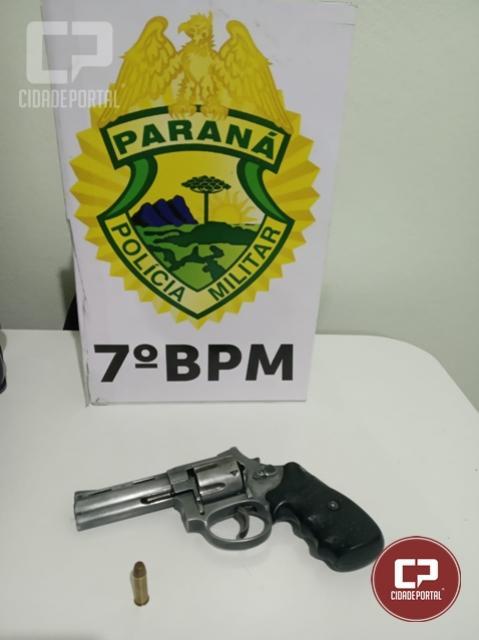 Operação Saturação apreende arma de fogo em Tapejara