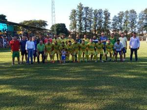A equipe do PEC entrou para a galeria de campeões amadores da Liga de Futebol de Assis Chateaubriand
