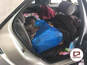 Polícia Rodoviária Estadual de Assis Chateaubriand apreende veículo com contrabando