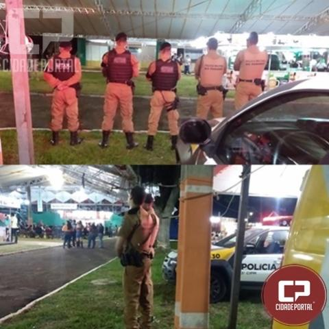 Policias Militares da 3ª CIPM reforçam policiamento na Expo Loanda 2019