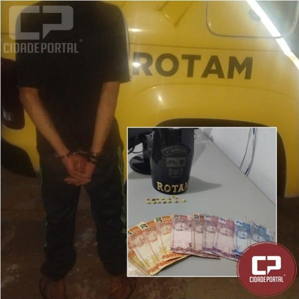 Polícia Militar realiza prisão por tráfico de drogas em Sarandi