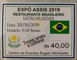 O evento mais esperado do ano - Expo-Assis 2019 - Shows e gastronomia