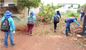 Secretaria de Saúde de Assis Chateaubriand começa o ano com arrastão para combate a escorpiões - Agentes percorrem bairros coletando animais encontrados e orientando moradores
