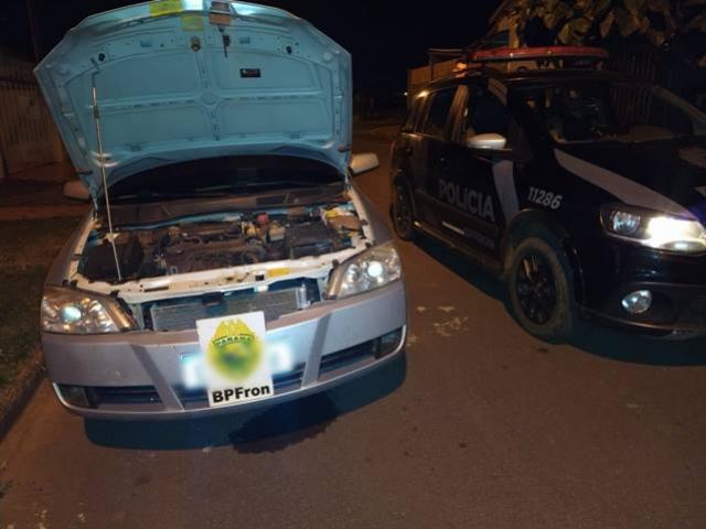 BPFron apreende veículo com rádio comunicador em Terra Roxa durante Operação Hórus