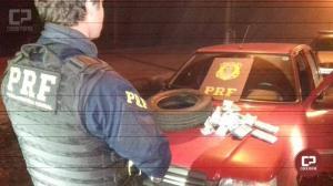 PRF apreende 170 mil reais e 19 mil dólares em veículo durante fiscalização na BR-163 em Lindoeste