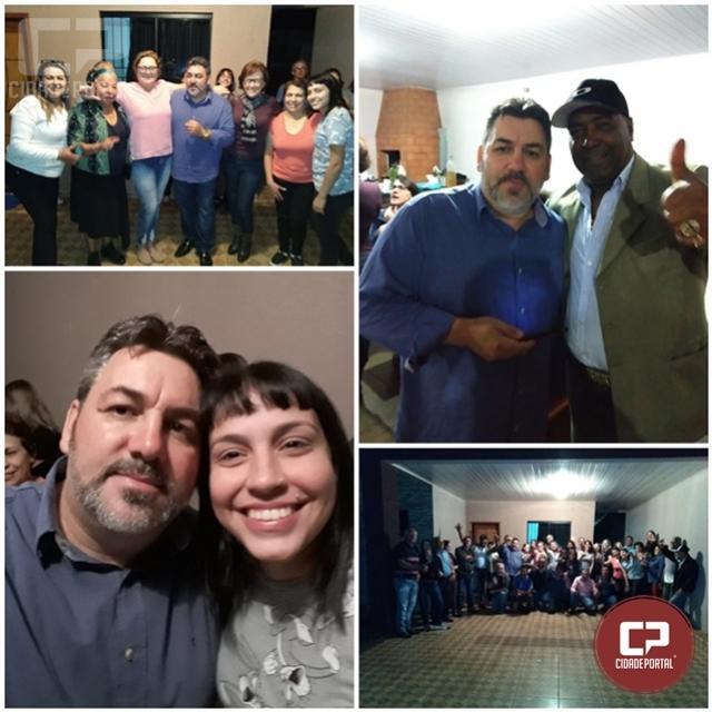 Sindicalista Oliver Macedo oficializa pré-candidatura a prefeito de Assis Chateaubriand