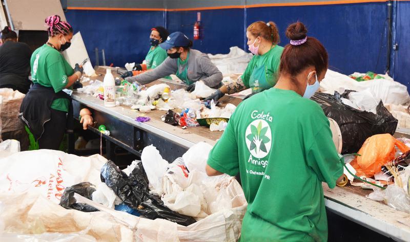 Acamar de Assis Chateaubriand bate recorde na comercialização de recicláveis