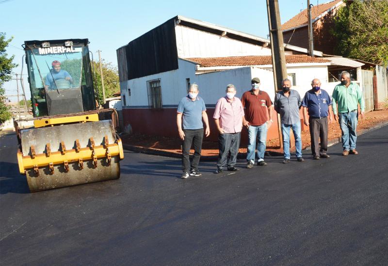 Bragantina recebe R$ 350 mil de investimento em reperfilamento asfáltico