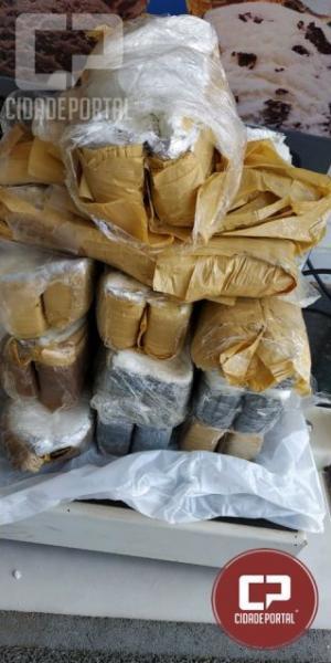 PRE apreendeu cerca de 14 kg de cocaína em Assis Chateaubriand