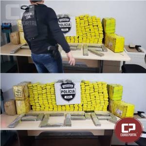 Denarc prende em Tupãssi três moradores de Cascavel transportando 283 kg de entorpecentes