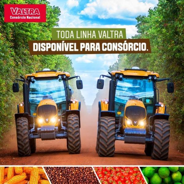 A Kato tratores oferece soluções para todos os tipos de lavouras com o Consórcio Nacional Valtra
