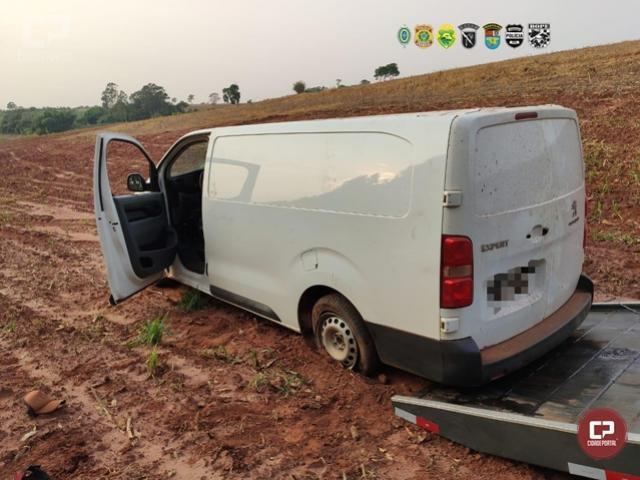 Dois contrabandistas presos e um veículo apreendido em Terra Roxa durante Operação Hórus
