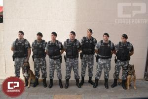 Policiais do Choque Canil do 4º BPM recebem Homenagem da Câmara de Vereadores em Maringá