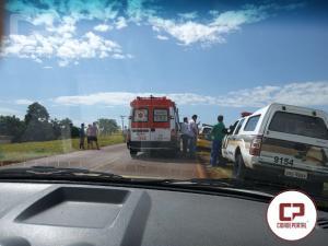 Uma pessoa de 52 anos perde a vida em acidente automobilístico entre Nova Aurora e Iracema do Oeste