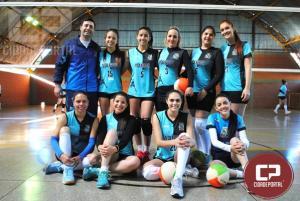 Campo Mourão fica com o título no Voleibol Feminino ao vencer Juranda