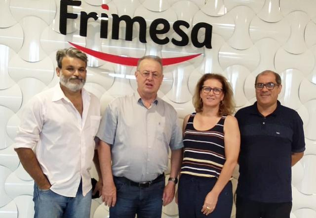 Município busca parceria da Frimesa para a Expo Assis 2019