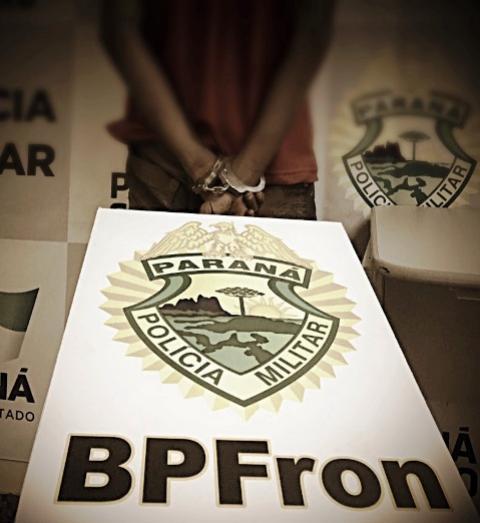 Foragido da cadeia de Xambrê é preso pelo BPFron em Guaíra