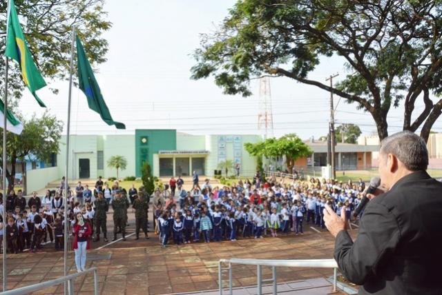 Semana da Pátria envolveu escolas, Cmeis, instituições e entidades de Assis Chateaubriand