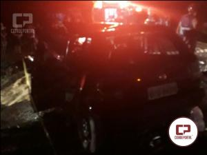 Tragédia: Duas pessoas perdem a vida em acidente na PR-364 na noite de sábado, 09