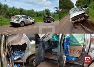 PF e BPFron prendem em flagrante contrabandista na cidade de Terra Roxa