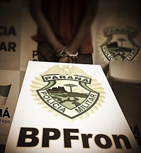 Foragido da Justiça é preso pelo BPFRON e Receita Federal na Ponte da Amizade