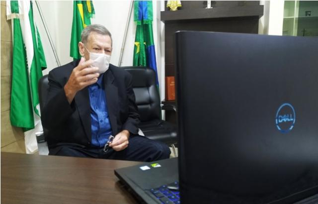 Prefeito Pegoraro garante repasse de R$ 740 mil para manutenção do Samu