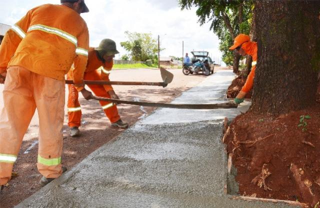 Município conclui pavimentação do Mini Parque e obra está em fase de acabamento