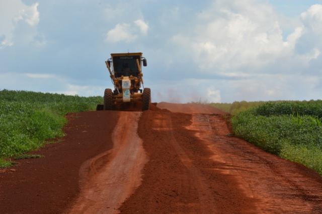 Patrolamento em estradas rurais está em pleno vapor para a escoação da safra 2020/2021