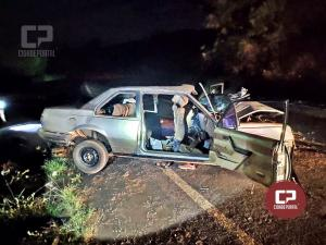 Tragédia na PR-468 tira a vida de uma criança com 10 anos de idade e deixa cinco feridos