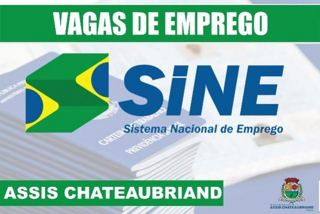 Assis Chateaubriand fica em 5º lugar no ranking de empregos no mês de maio no Paraná