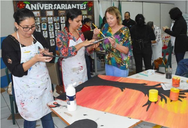 Assis realiza Oficina de Arte Sustentável com professores