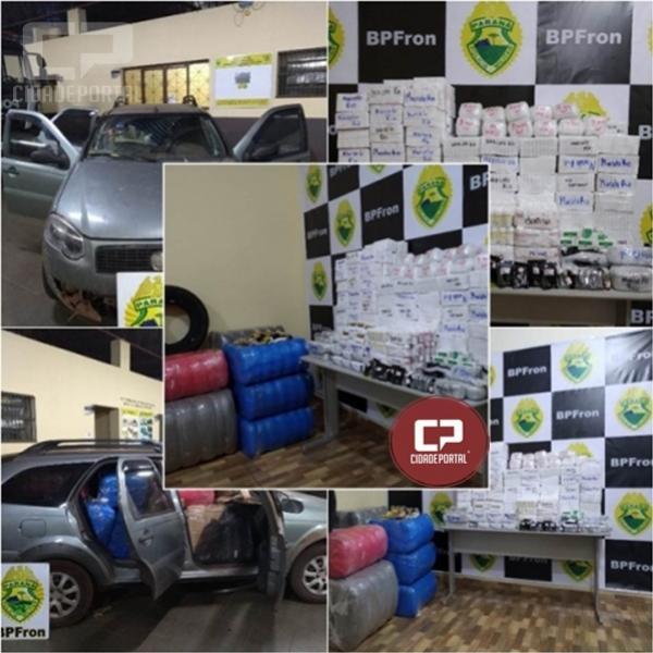 BPFron impede que enorme carga de anabolizantes chegue ao mercado clandestino em Guaíra