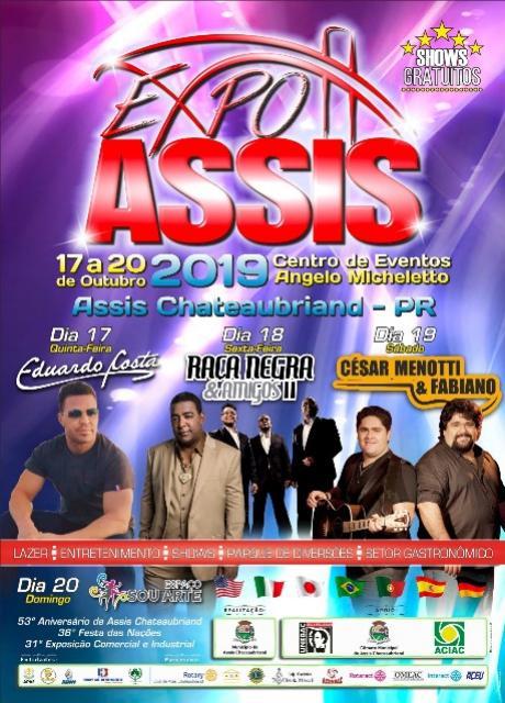 Definida a programação da Expo Assis 2019