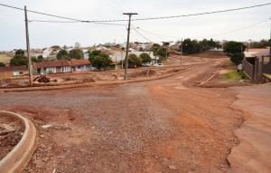 Prefeitura declara empresa que irá concluir a obra do asfalto do Jardim Paraná em Assis Chateaubriand