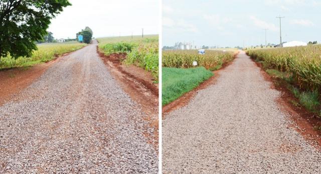 Agricultura: estradas na região do Nice recebem melhorias com solo brita
