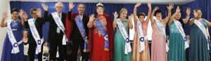 Eleitos a Miss e o Mister Terceira Idade 2018 de Assis Chateaubriand