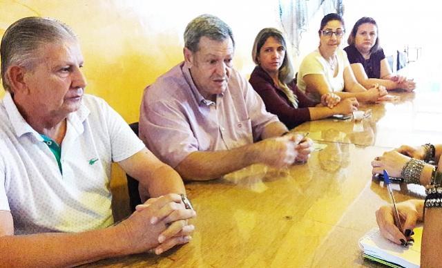 Prefeito de Assis Chateaubriand se reúne com Núcleo Multisetorial e Comercial de Bragantina