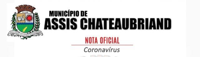 Secretaria de Saúde registra primeira suspeita de coronavírus em Assis Chateaubriand