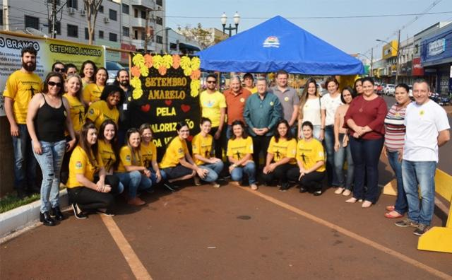 Setembro Amarelo: Assis realiza sensibilização sobre a prevenção ao suicídio