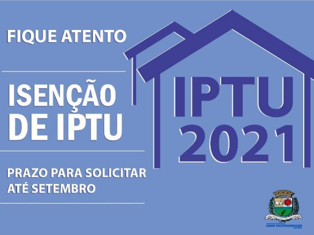 Isenção do IPTU pode ser solicitada em Assis Chateaubriand