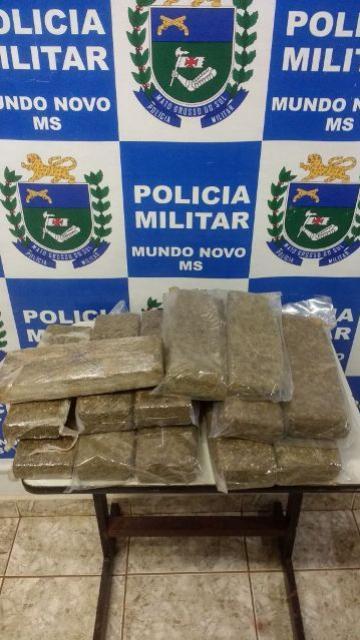 Paranaense de Terra Boa, foi apreendida pela Polícia Militar de Mundo Novo